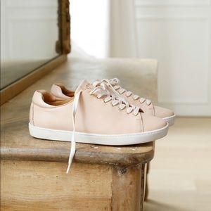 Sezane jack sneaker pink leather size 39